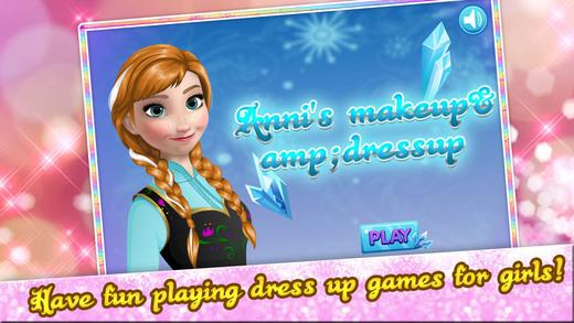 冰雪情缘—安娜公主的约会装扮