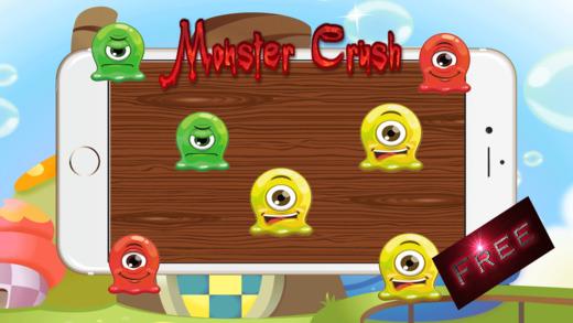 怪物粉碎冒险 - 游戏比赛3益智的主力部队为孩子们免费