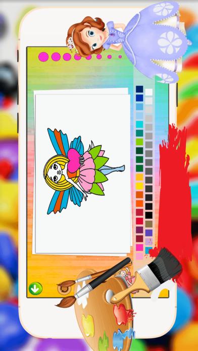 公主的图画书 - 都在1妖精的尾巴平局,油漆色游戏高清的好孩子