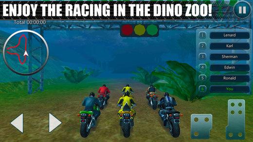 恐龙公园自行车赛车模拟