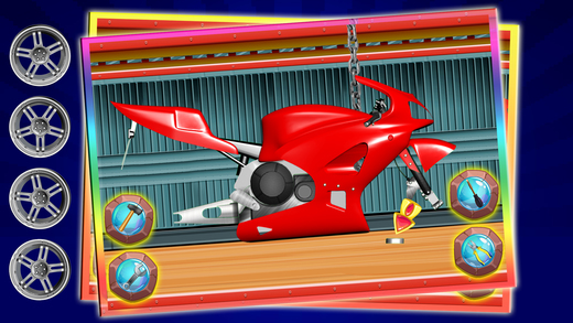 体育自行车厂 - 构建摩托车