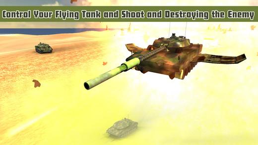 飞行坦克战 - 对空攻击中铁驱逐舰