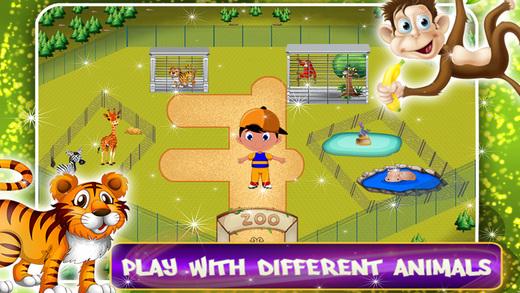 去动物园为孩子 - 最佳教育游戏