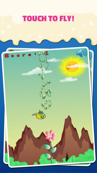 飛揚的龍:在山城憤怒的龍在飛冒險避開障礙物