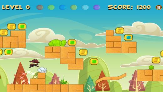 勇敢的冒險逃生男孩 - 跑和跳免費遊戲