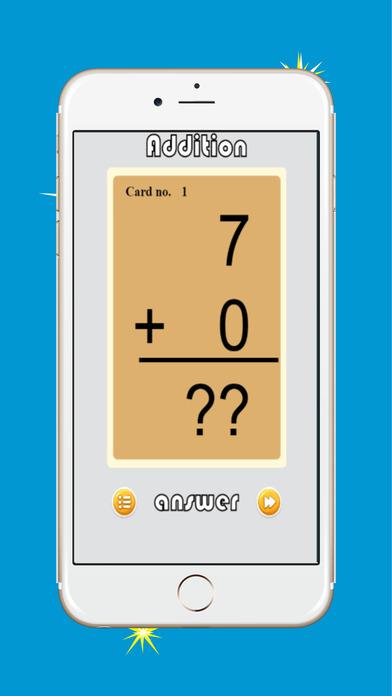 加减数学事实闪存卡为孩子们(0-9,0-18,0-100)