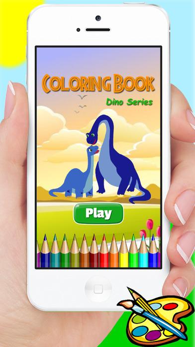 恐龙图画书 - 绘画为孩子免费游戏