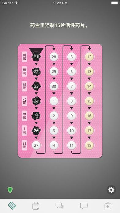 避孕提醒应用 - myPill®