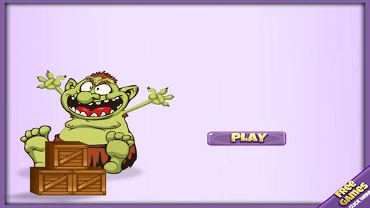 饥饿的巨魔入侵 - 快速采集游戏的孩子 支付