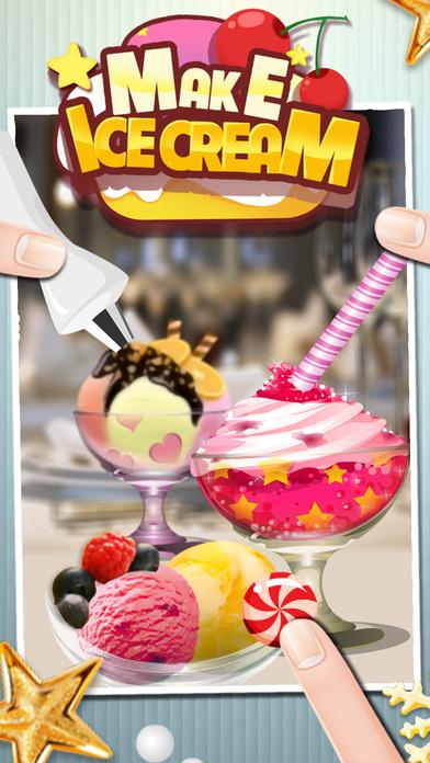 冰淇淋机 - 做饭游戏