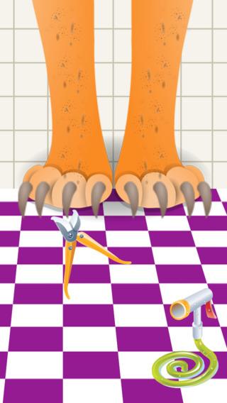 孩子们 宠物 兽医 温泉 沙龙 的 美女 钉子 发 脚 & 腿 小 宝宝 医生(dr) 改造 游戏 为 女孩
