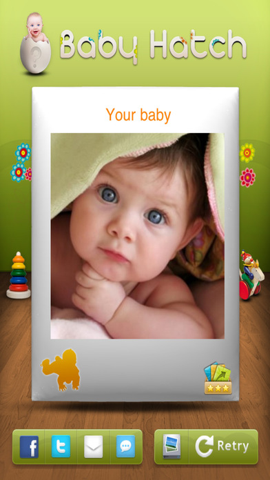 未来宝宝面孔:怀孕时制作宝宝、为宝宝选名字(宝宝大头照)!- Future baby's face : make a baby, pick a name while pregnant (baby booth)!!
