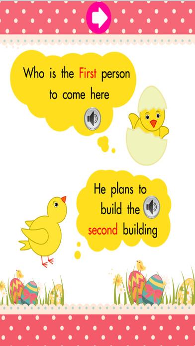 学习英语词汇课3:为孩子们免费学习教育游戏