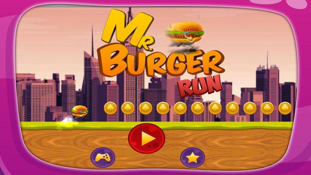 先生的汉堡运行 - 无限亚军和跳跃类游戏全的冒险