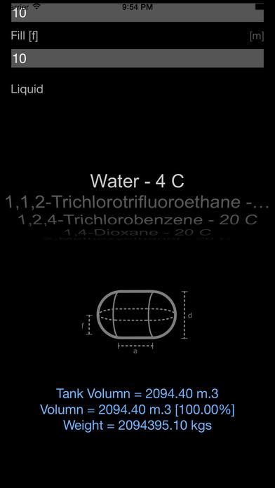 液体计算器