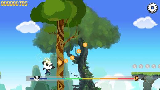 经典飞天忍者跑酷-经典熊猫酷跑逃亡游戏