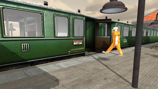 监狱逃生火车驾驶3D