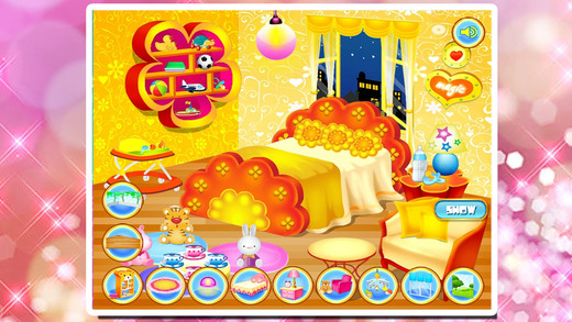装饰宝贝的卧室