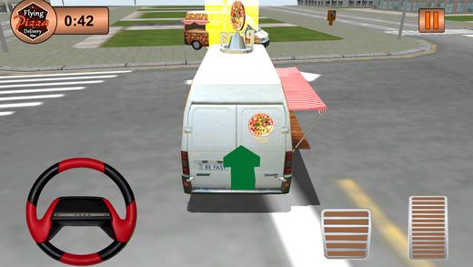 飞行比萨送货范 - 终极驾驶乐趣