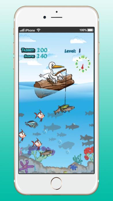 鳥捕魚:冒險遊戲在深海的孩子