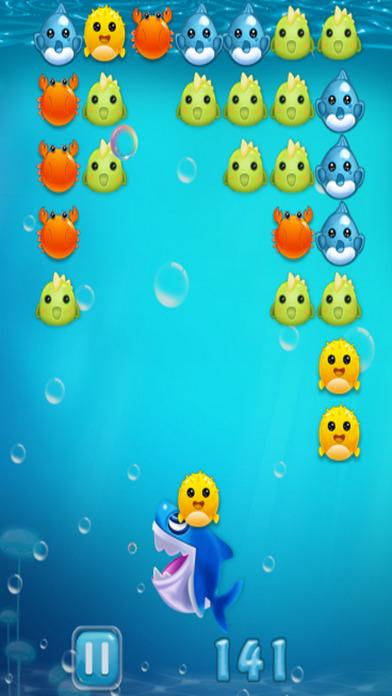Shark Shooter Crush - 泡泡龙 经典版