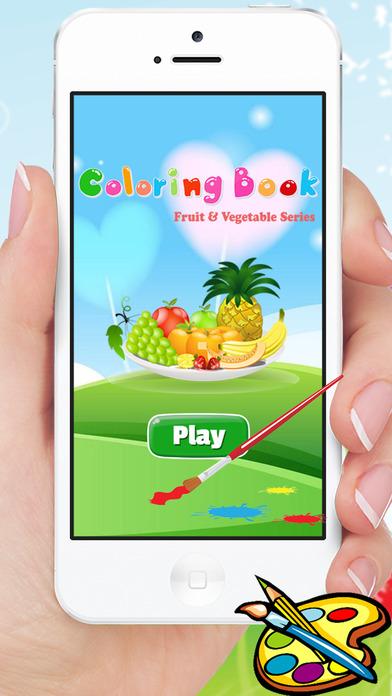 食品图画书为孩子 - 果蔬抽选游戏