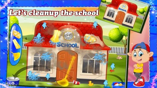 孩子教师教室故事 - 学校游戏