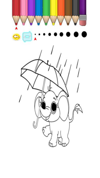 兒童圖畫書 - 可愛的卡通鮎川