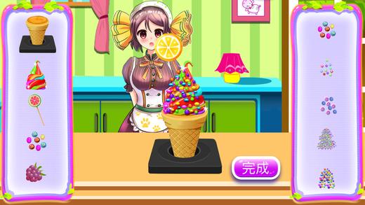 制作冰淇淋 - 宝宝烹饪做饭游戏巴士