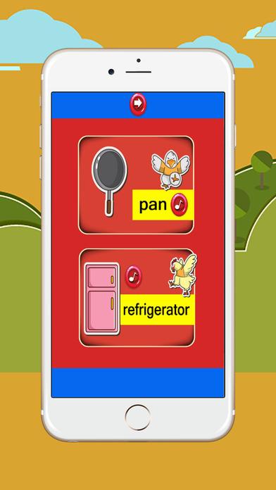 每天学习英语词汇:厨房:为孩子们免费方便的学习教育
