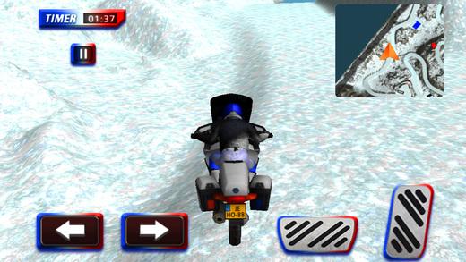 越野警车自行车驾驶 - 摩托车骑
