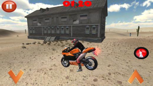 越野僵尸自行车赛车游戏
