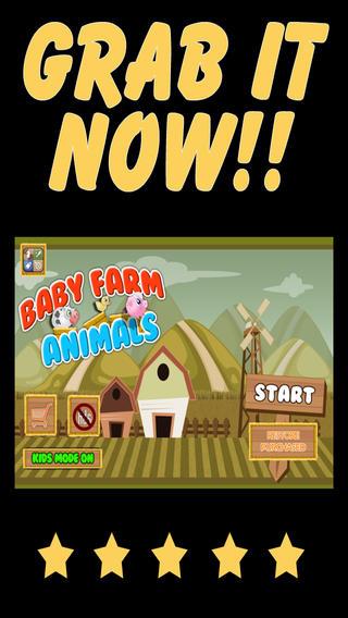 可愛的小寶貝農場動物 - Cute Baby Farm Animals