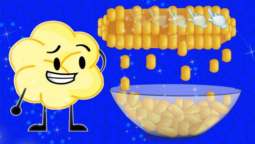 爆米花机 - 烹饪食物及厨师躁狂症游戏为孩子们