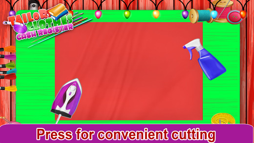 裁缝 衣服 收银机 儿童游戏