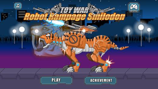 狂暴机器剑齿虎 - 组装机器恐龙大战