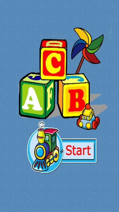 基本技能和字母拼读A到Z - 词典:学习游戏为孩子和幼儿。