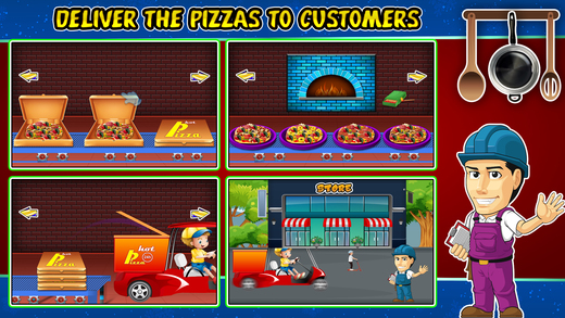 比萨工厂&烹饪 - 疯狂食品制造商