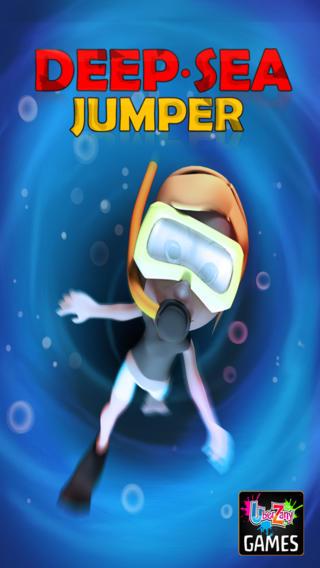 深海跳線免費-藍色海洋獵人果凍魚天堂匆忙的超級搞笑的