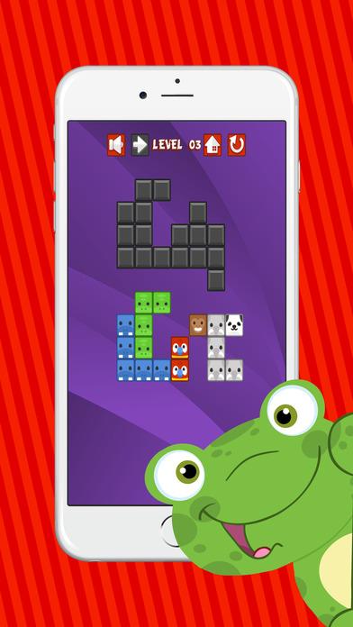 动物拼图块为孩子 - 免费游戏