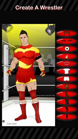 创建一个摔跤手。