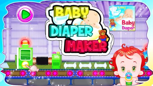 婴儿纸尿裤生产商 - 对于小孩疯狂的乐趣的游戏时间