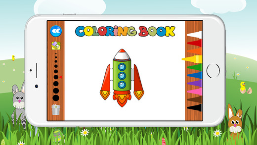 世界火箭图画书为孩子们免费游戏
