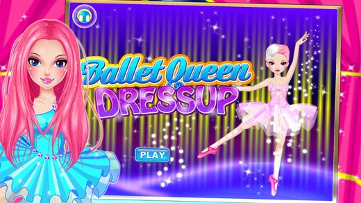 芭蕾女神装扮