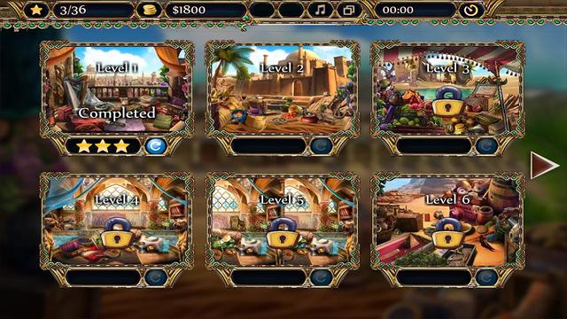 波斯商人时之沙-找东西游戏