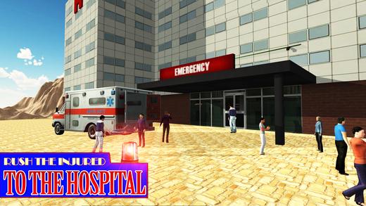 越野救护车救援驾驶和紧急SIM卡