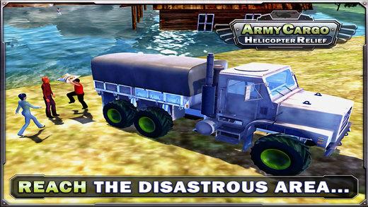 陆军货物直升机救援&卡车模拟游戏