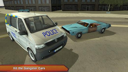 警车车追赶 - 交通赛车游戏