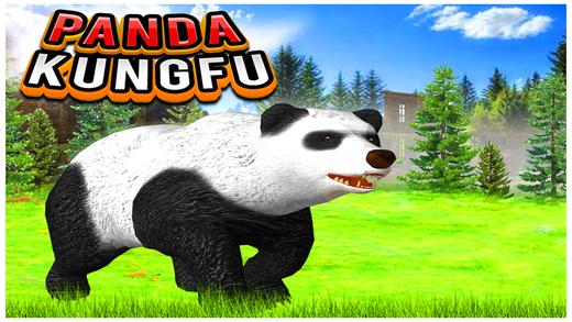功夫熊猫(3D愤怒的动物模拟器游戏)