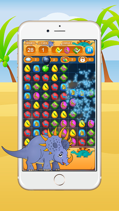 恐龙比赛游戏为儿童免费 Dinosaur Match Games For Kids Free